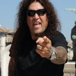 Chuck Billy is the lead vocalist for the American pioneering thrash metal band Testament.